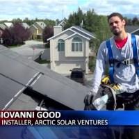 ASV in the News: The economy of sunshine - Solar boom in Alaska proves prosperous
