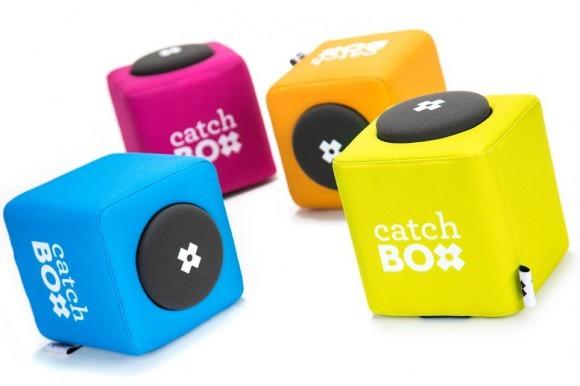 Semināra skaņas aparatūra var ietvert arī inovatīvo Catchbox
