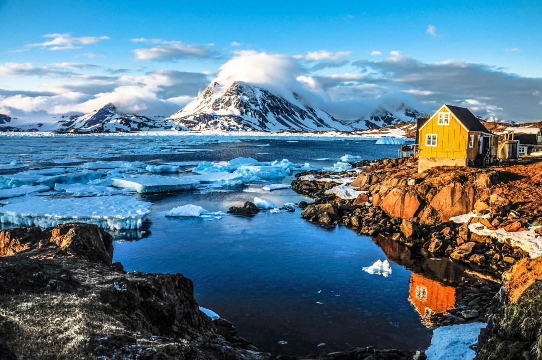 Travel to Kulusuk, Greenland