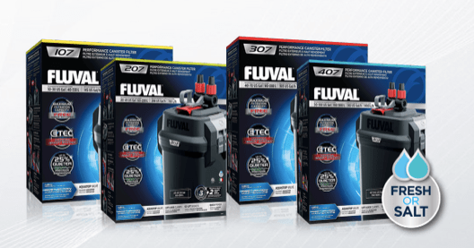 Fluval 07 series Aquarium Canister Filters