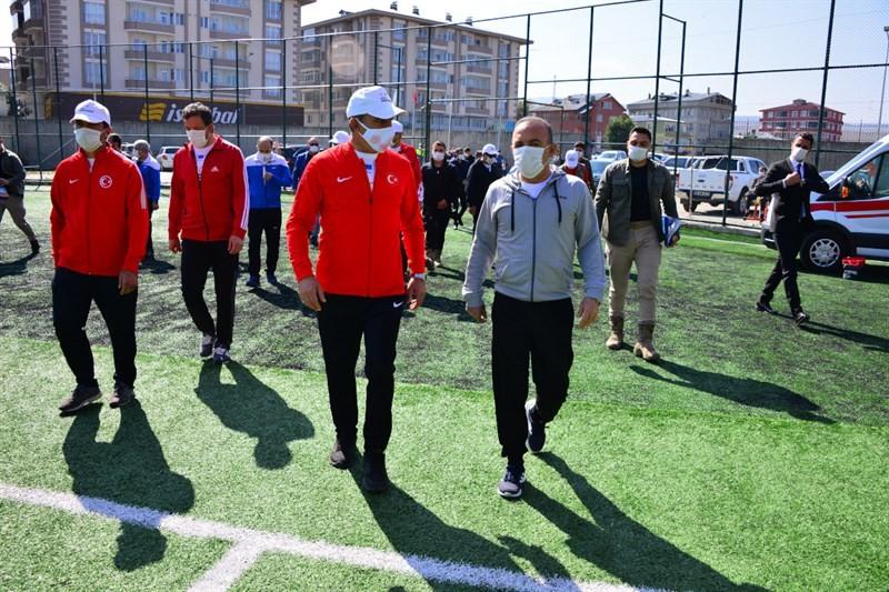 Ardahan'da Avrupa Spor Haftası etkinliği