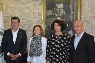 """İzmir Büyükşehir Belediye Başkanı Soyer: """"Batı ile doğu arasındaki işbirliğini geliştirmeyi hedefliyoruz"""""""