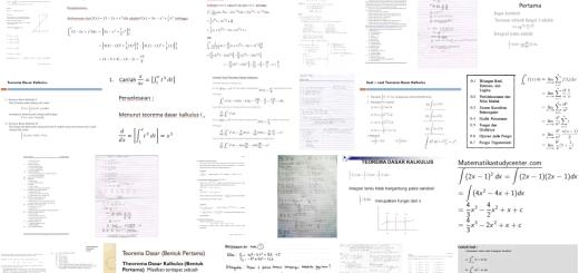 E-Book Pegangan Matakuliah Matematika Kalkulus Dasar