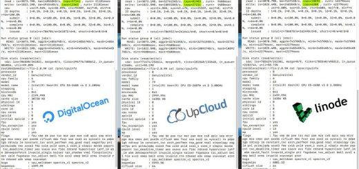 Perbandingan Performa VPS Digital Ocean, Linode, dan Upcloud