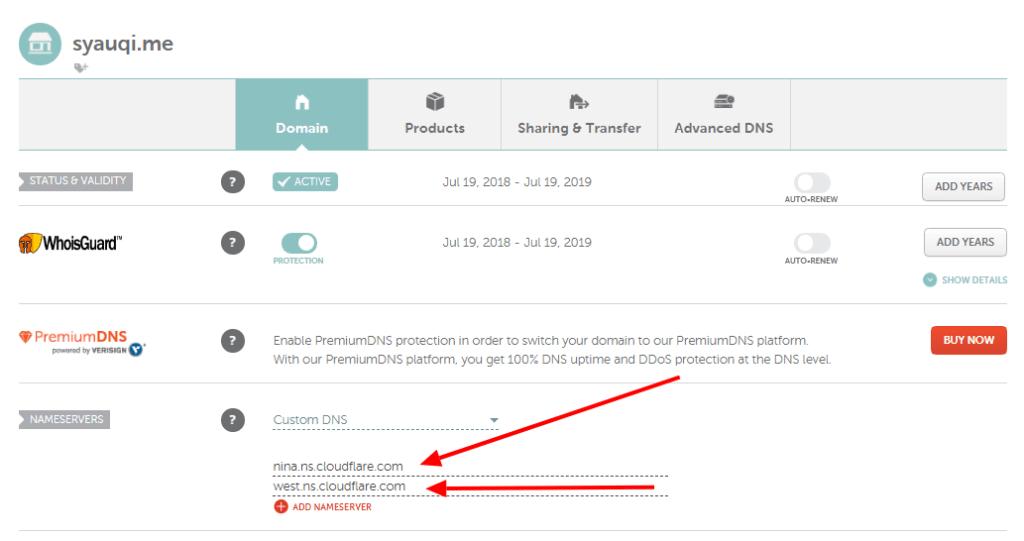 Cara Mudah Setting Name Server dan DNS Cloudflare