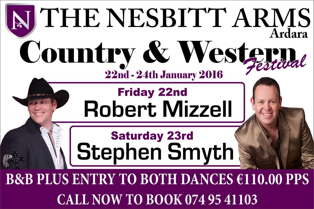 Ardara Country Music Weekend 22nd – 24th January