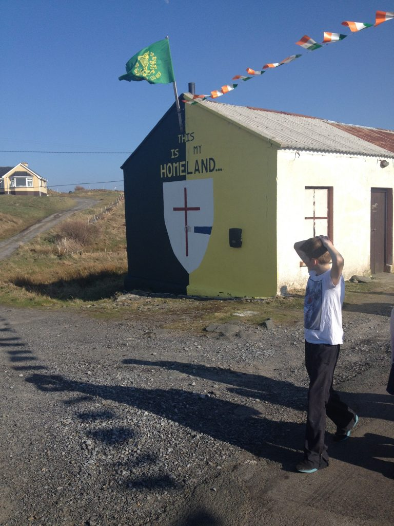 Rosbeg welcomes St. Patrick