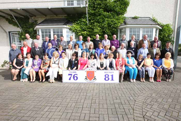 St. Columba's reunion of the class of 81′