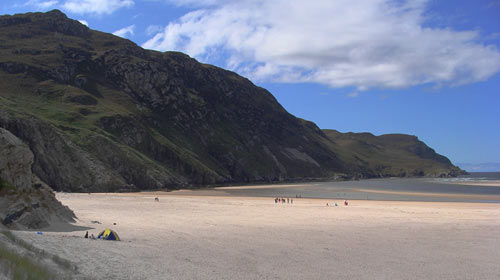 Maghera Caves and Beach