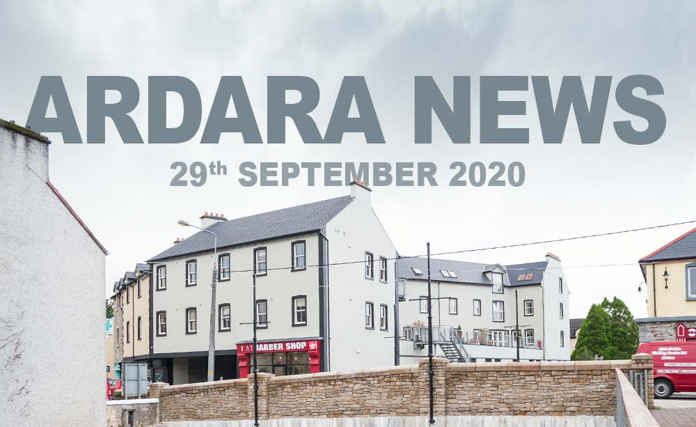 Ardara News 29th September 2020