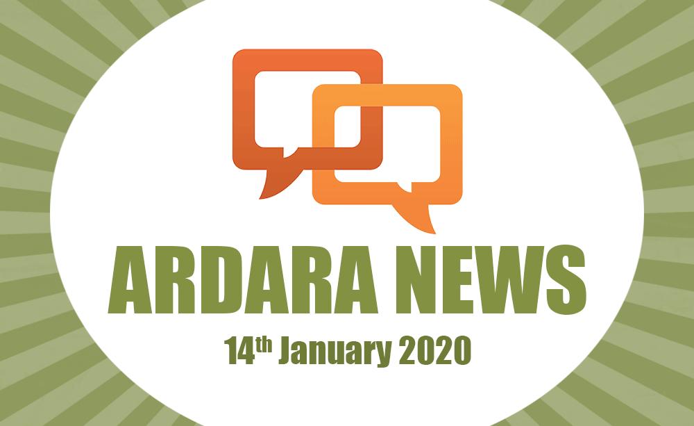 Ardara News 14th Jan 2020