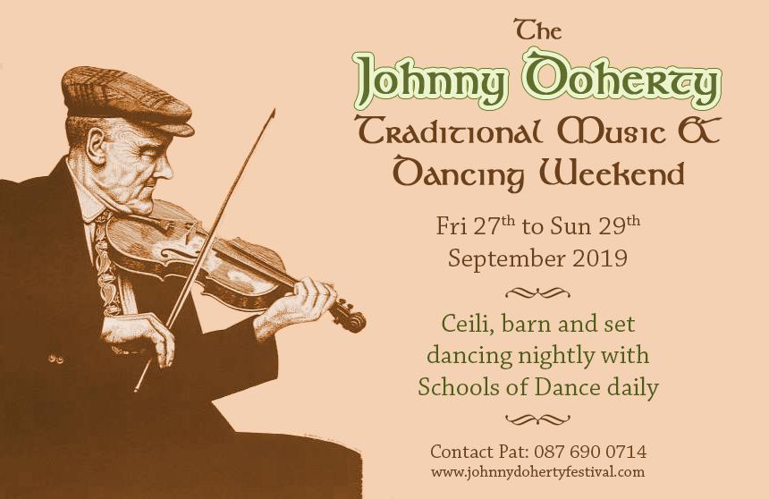 The Johnny Doherty Irish Traditional Music & Dancing Festival
