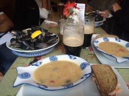 Seafood at Nancy's Bar, Ardara