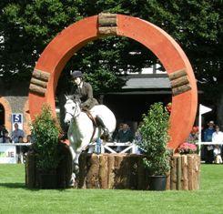 Jump through the horseshoe