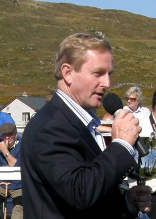 Enda Kenny opens the Champion of Champions Show at Roundstone