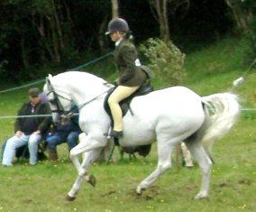 Blackwood Fernando and Alicia Devlin Byrne, under 16 Reserve Ridden Champs.