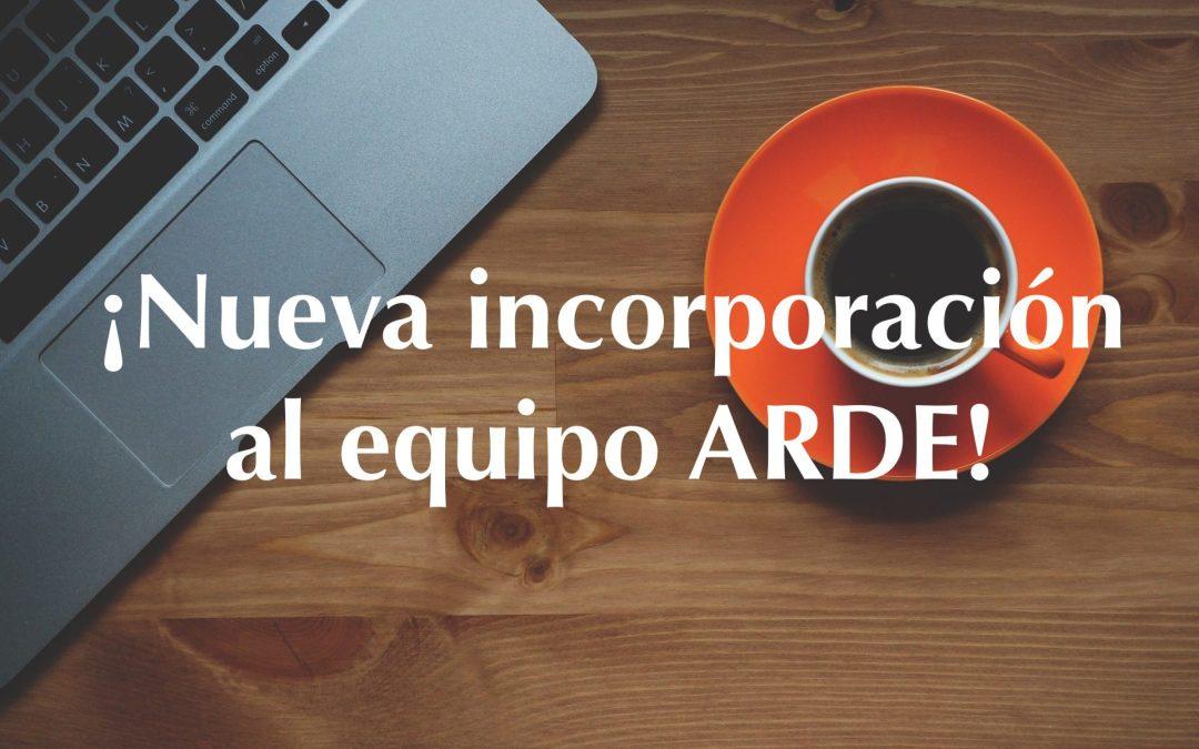 Inma Carrasco. Nueva incorporación al equipo de ARDE