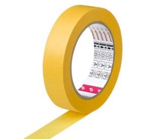 gold tape schilderstape gold permafix, gele tape