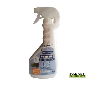 blanchon huile d'entretien universele universal maintenance oil tous parquets huilés alle geoliede parketvloeren