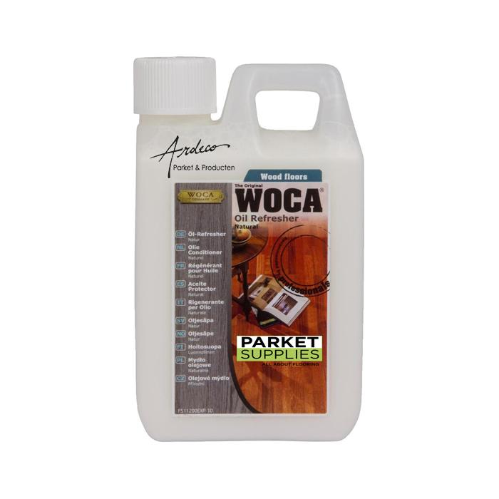 woca oil refresher conditioner wit naturel
