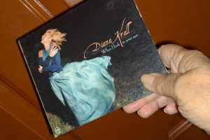 Diana Krall CD cover graphic