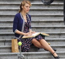 51358510 Actress Blake Lively films scenes for 'Age of Adaline' at the Vancouver Art Gallery on March 18, 2014 in Vancouver, Canada. FameFlynet, Inc - Beverly Hills, CA, USA - +1 (818) 307-4813