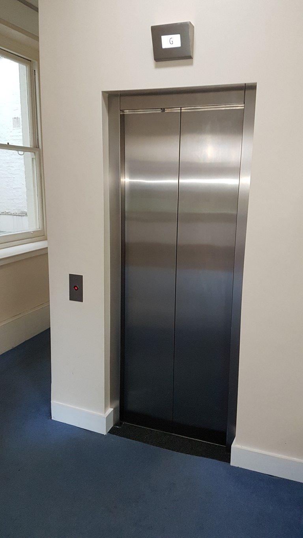 Landing doors after