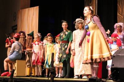 Fairy tale Characters from Shrek the Musical