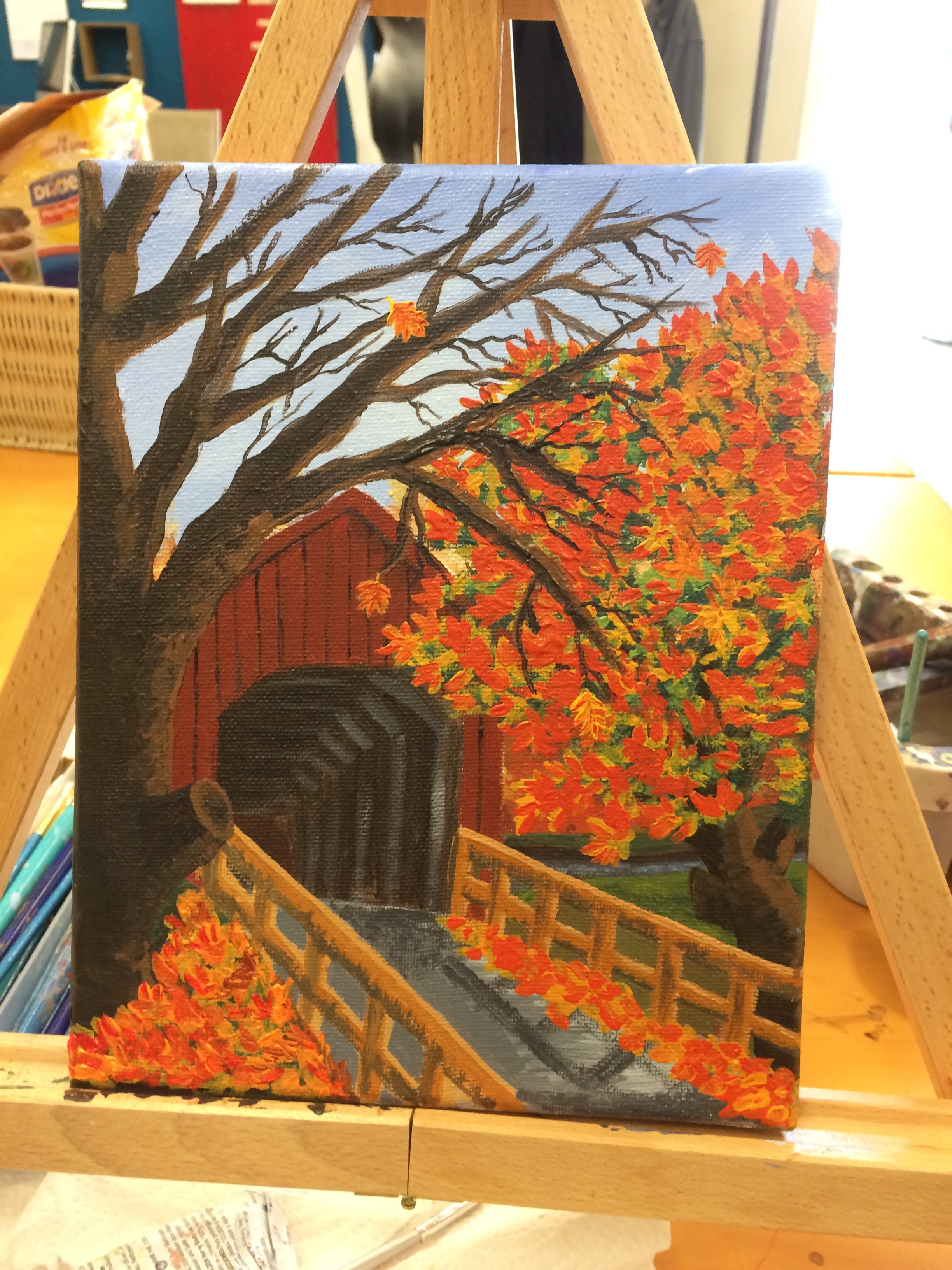 fall painting almost finished