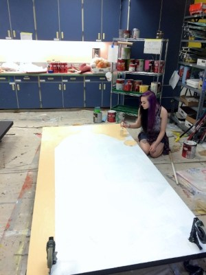 Painting Sets, Kitsap Musical Children Theater