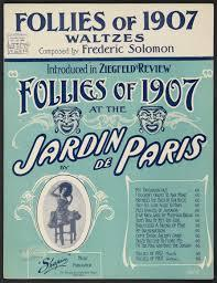 Follies of 1907 Poster