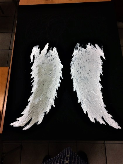 Daryl Dixon inspired wings in progress