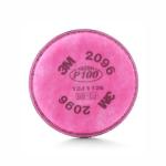 3M 2096 Filtro para Partículas P100 con Alivio para Niveles Molestos de Gases Ácidos
