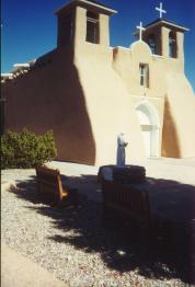 Mission Church in Ranchos de Taos