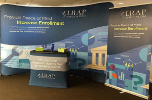 LRAP Association's Booth at Conference