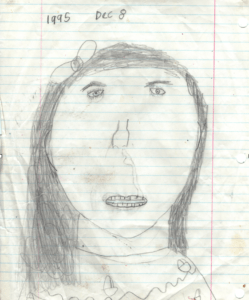 Becky Simpson Childhood Drawing