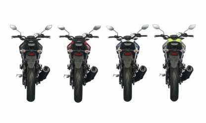 Yamaha M-Slaz rear