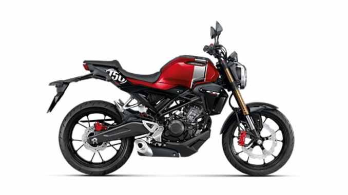 Gambar Motor Cb 150 R 2019