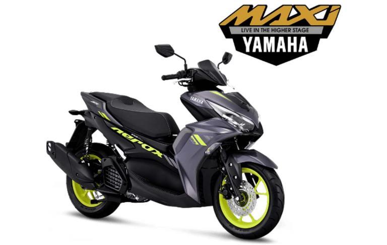 yamaha aerox 2021 grey