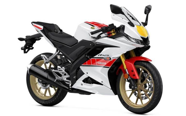 2022 Yamaha R125 60th Anniversary World GP...