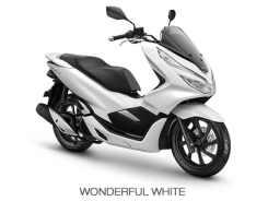 honda pcx 201 putih