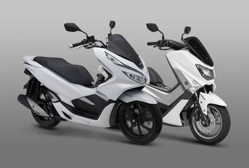 Honda PCX 2018 VS Yamaha NMax 2018...