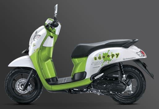 Honda Scoopy 2017 Playful Hijau Ardiantoyugo Com