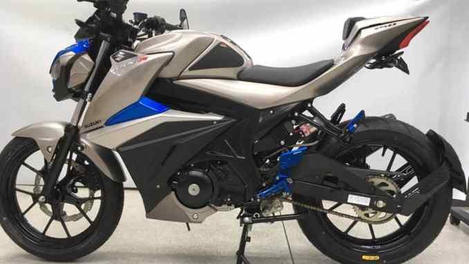 Modifikasi Suzuki Gsx S150 Thailand Ala Moge Gsx S750