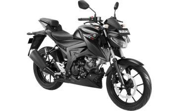 Suzuki gsx s150 standar hitam