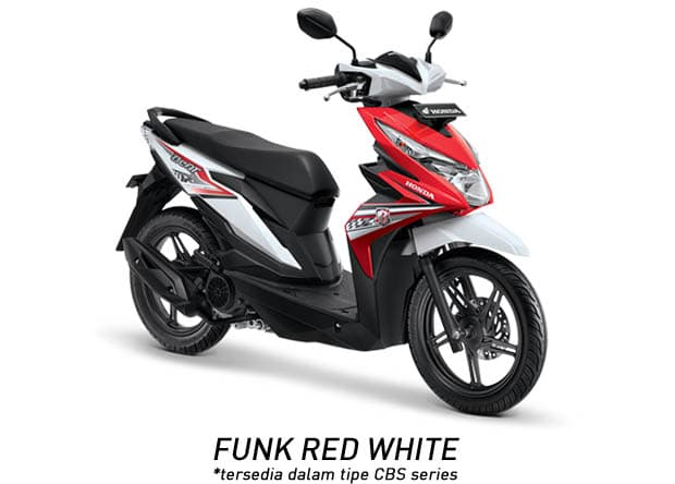 Nih 8 Pilihan Warna Honda Beat 2018 Terbaru...