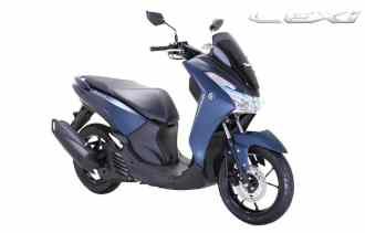 Yamaha Lexi 125 S version...