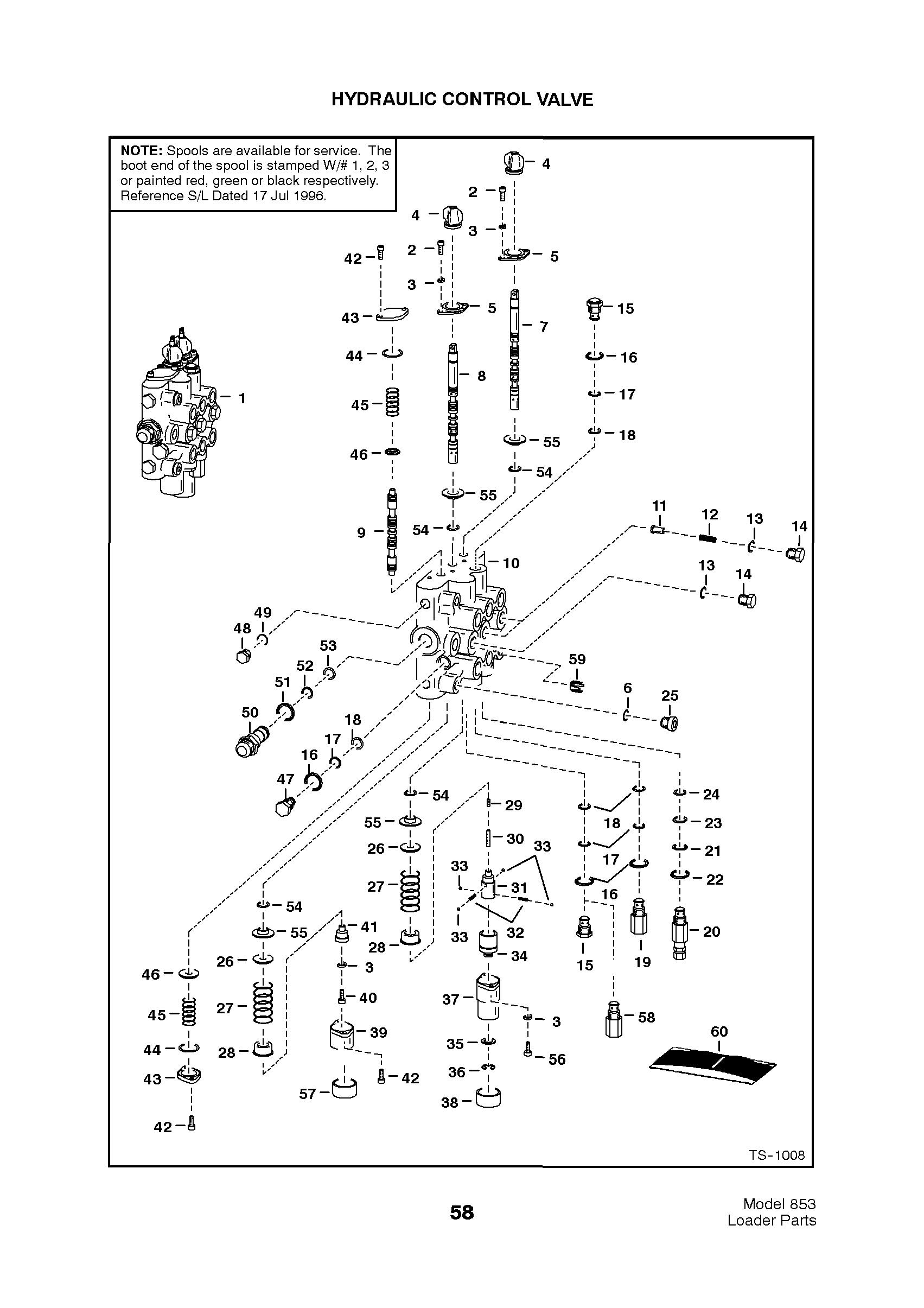Bobcat Hydraulic Schematic