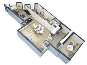 render-3d-de-distribucion-de-una-vivienda-en-planta
