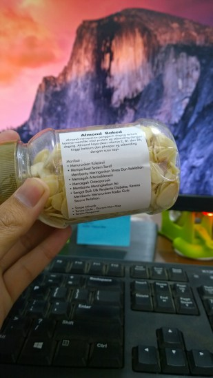 My Mooi Almond Baked